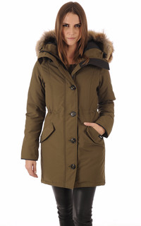 Parka Rossclair military green