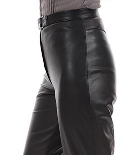 Pantalon Cuir Femme Rossi