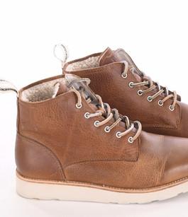 Boots montantes camel Blackstone