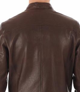 Blouson Gafino en cuir marron Daytona 73