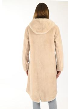 Manteau réversible Muse beige