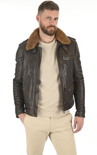 Blouson Pirate Marron