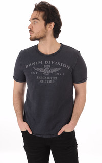 T-Shirt Bleu Denim Division