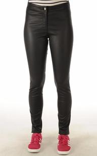 Pantalon Cuir Stretch Femme1