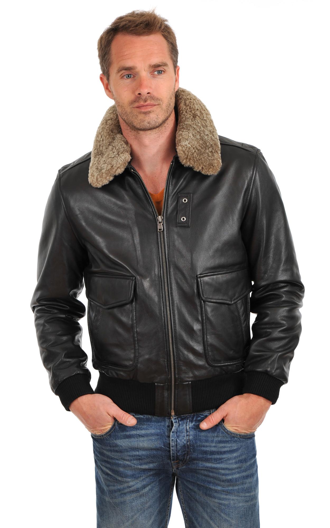 Choisir sa taille veste en cuir