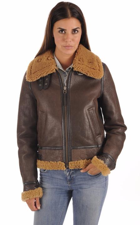 Redskins Femme   Blouson cuir, veste en cuir, doudoune et parka Redskins 5a73c94ea07e