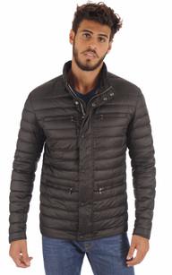 Doudoune Textile Noire Homme1