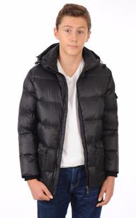 Doudoune Authentic Jacket  Noire Garçon1