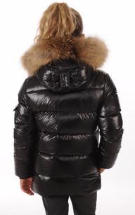 Doudoune Authentic Jacket Noire Fille
