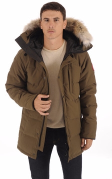 Parka Carson Military Green Homme1