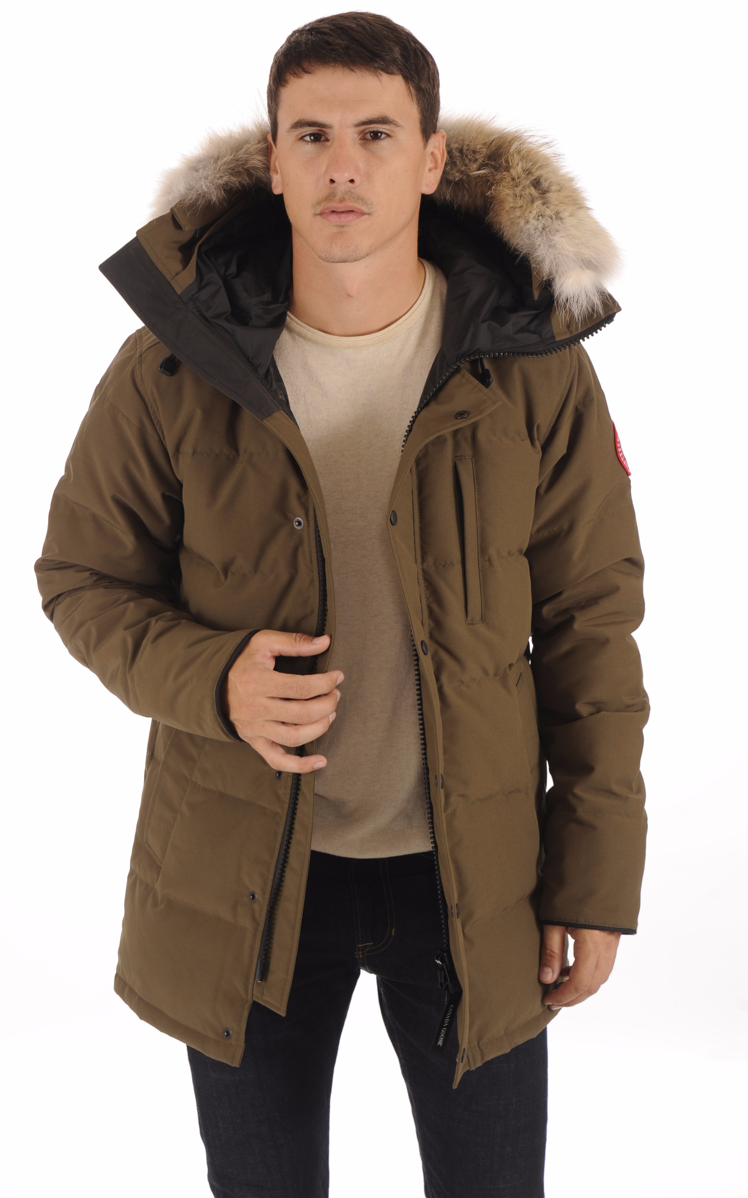 Parka Carson Military Green Homme Canada Goose