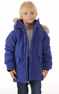 Parka Logan Enfant Bleu Pacifique
