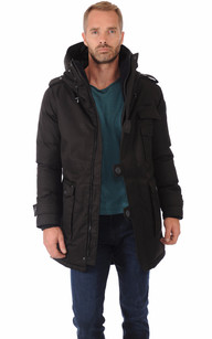 Parka Shelby Noire Homme1