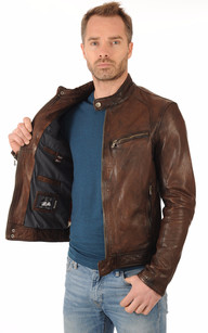 Blouson Dustin Marron