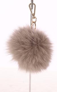 Porte-clé renard beige
