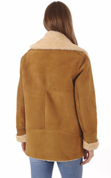 Veste Merinillo Coupe Loose Miel