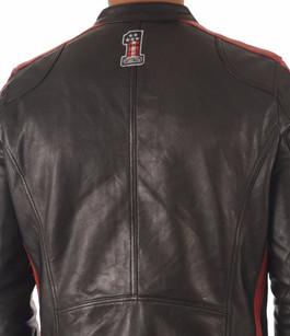 Blouson Cuir Noir Style Motard Daytona 73