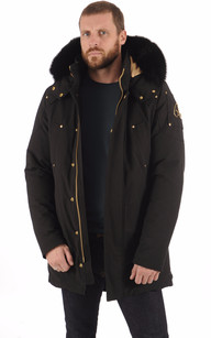 Parka CORNER BOOK Black-Gold1