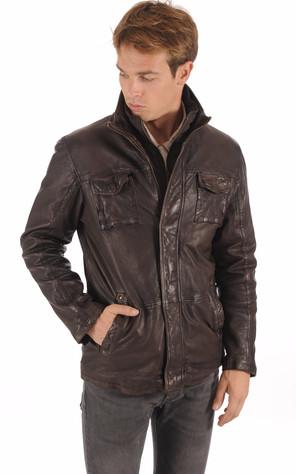 Collection Cuir Homme - La Canadienne, blousons cuir, vestes, peaux ... cc79f3511cd