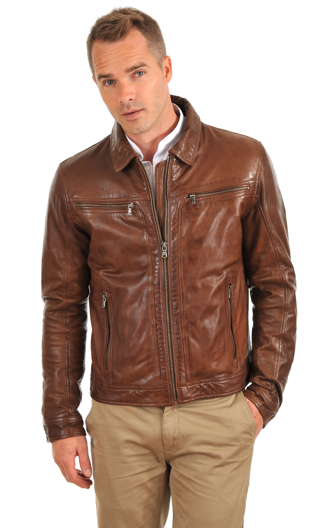 Blouson Washington Bison1