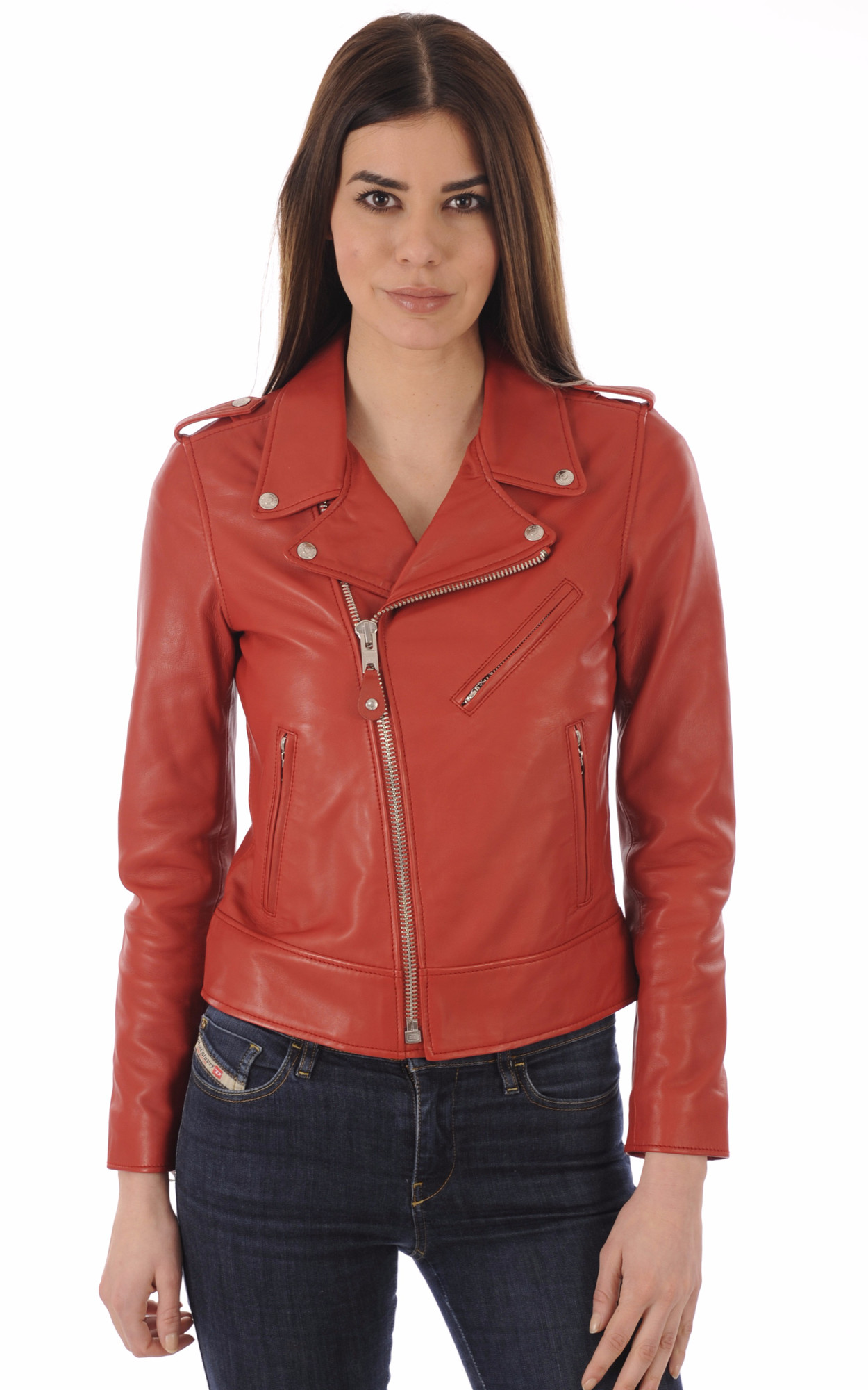 Perfecto LCW1601D Cuir Rouge1