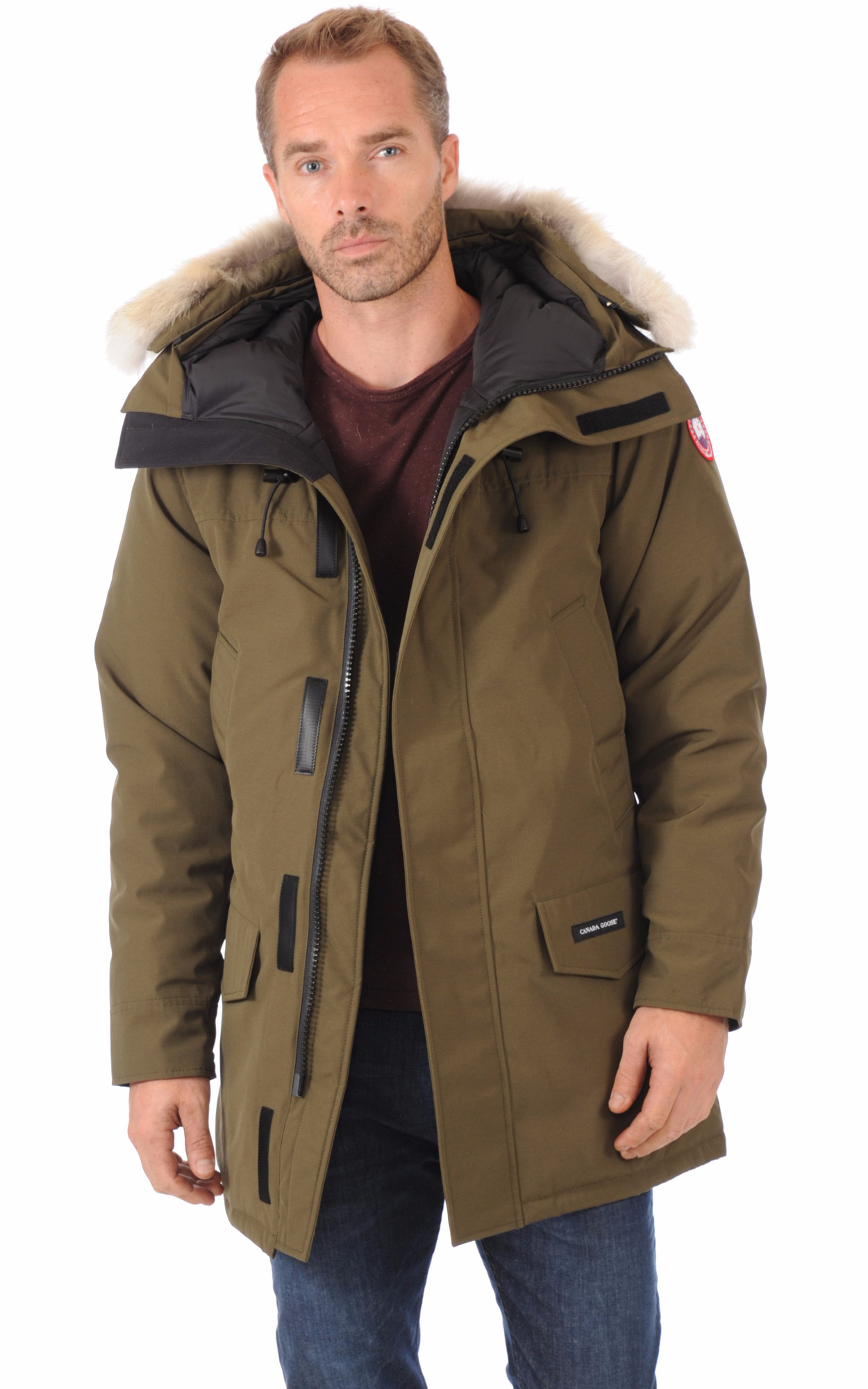 Parka Langford Military Green1