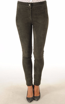 Pantalon Cuir Velours Stretch1
