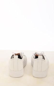 Baskets en cuir blanches
