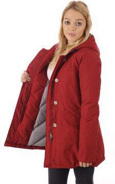 Parka W'S Arctic Rouge Cherry