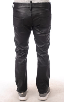 Pantalon Cuir Stretch Homme