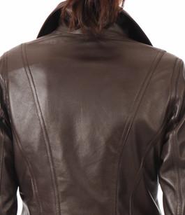 Blouson Femme Coupe Confortable Peau d'Âne
