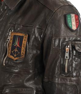 Blouson cuir marque italienne