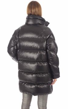 Doudoune oversize noire