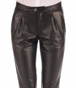 Pantalon Chino Femme Noir La Canadienne