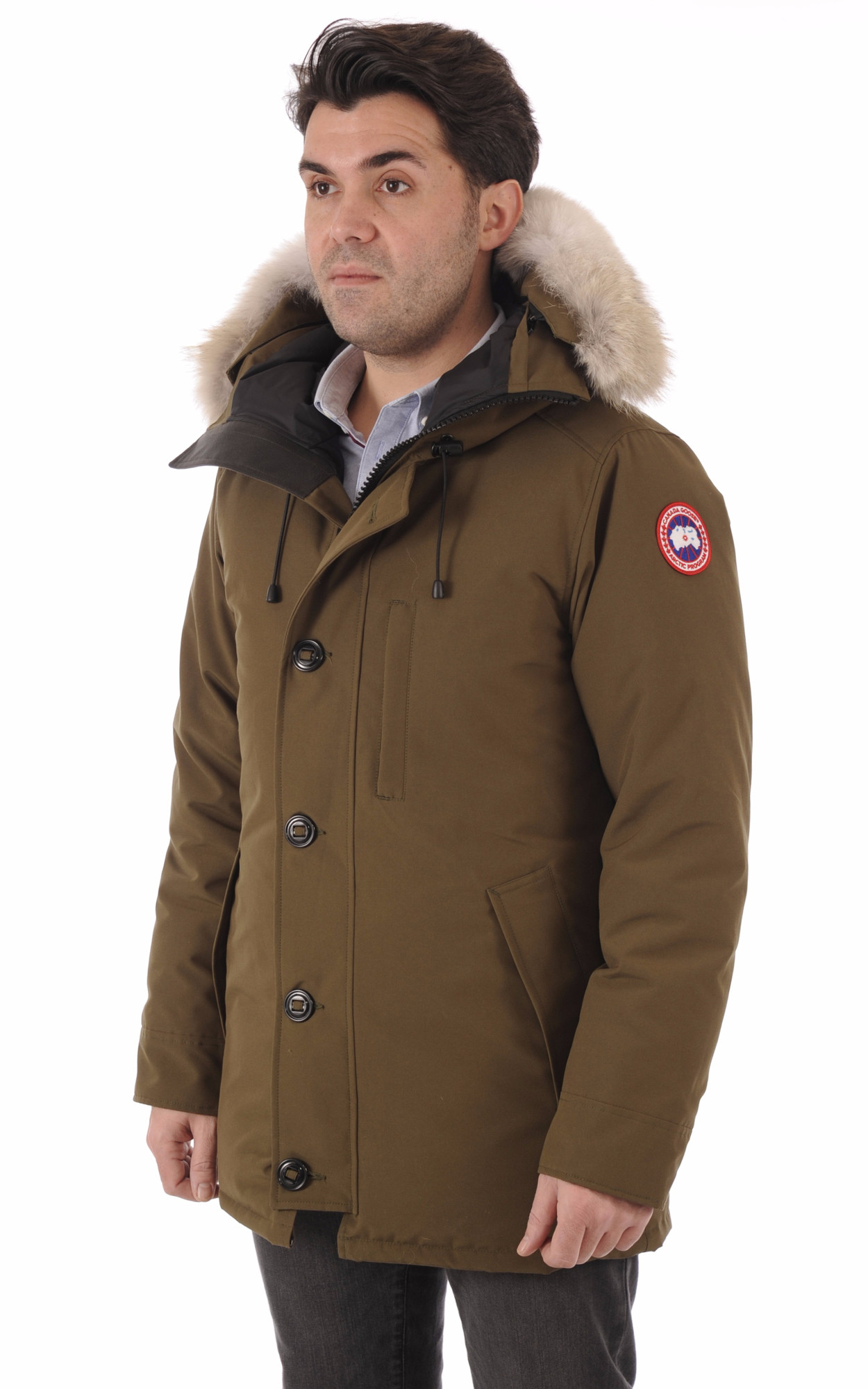 Parka The Chateau Military Green1