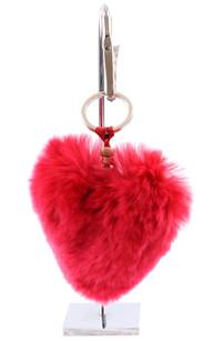 Porte Clef Herz Rouge