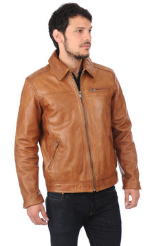 Blouson Major Cognac1