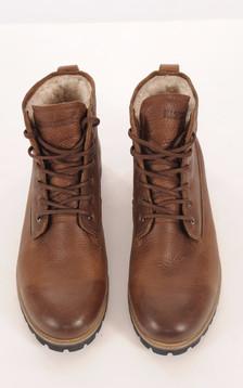 Boots Cuir Marron Fourrées Mouton1