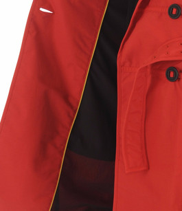 Trench Imperméable JUSTICE Rouge Nobis