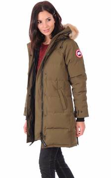 Parka Shelburne Military Green1