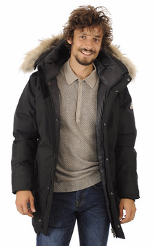 Parka Homme Annecy Noire1