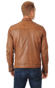Blouson Homme Tabac