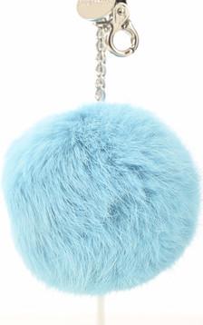Porte-clé lapin turquoise