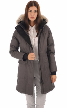 Parka Merideth steel grey