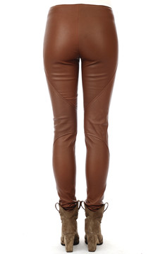 Pantalon Cuir Stretch