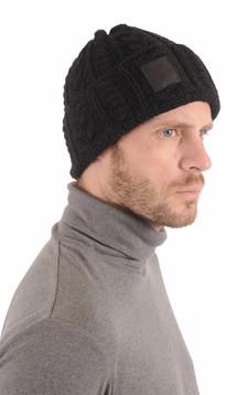 Bonnet Chunky Noir