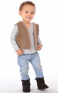 Boots Cuir Enfant1