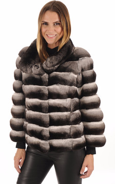 Veste Chic Fourrure Chinchilla1