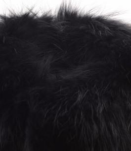 Col Fourrure Raccoon Noir Oakwood