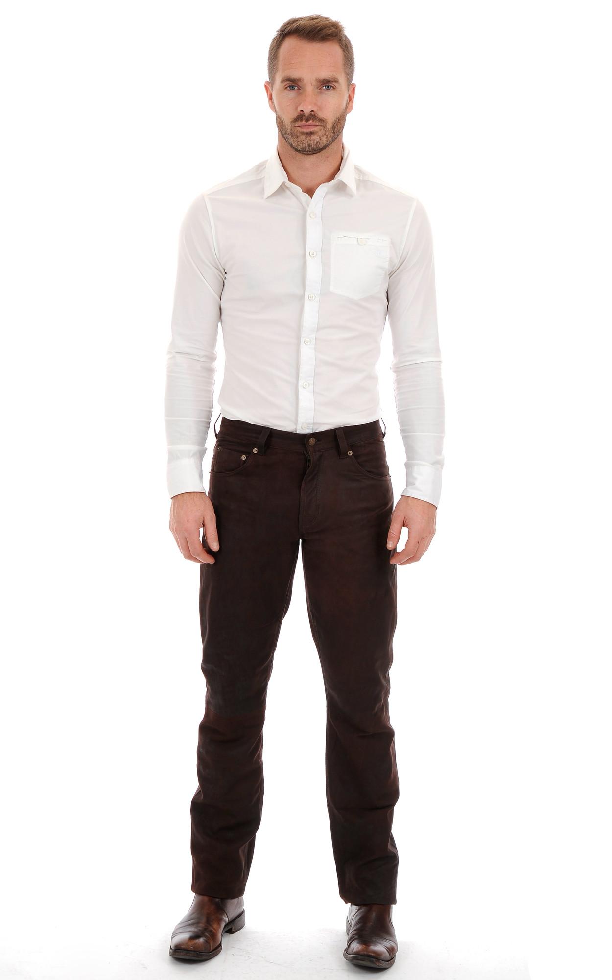 Pantalon Nubuck Homme Maddox